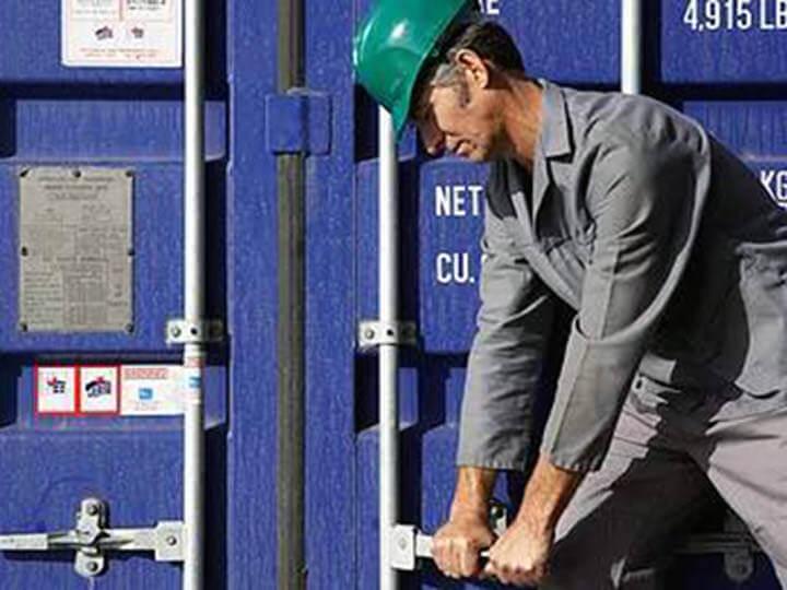 Petalco transportation marine secured container