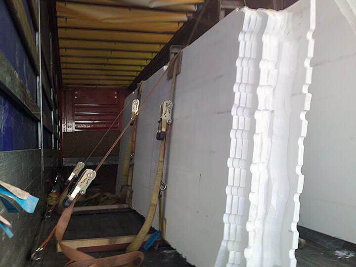 Petalco transportation road marble slabs