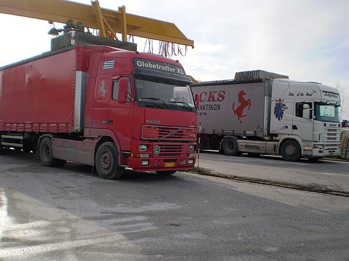 Petalco transportation road truck