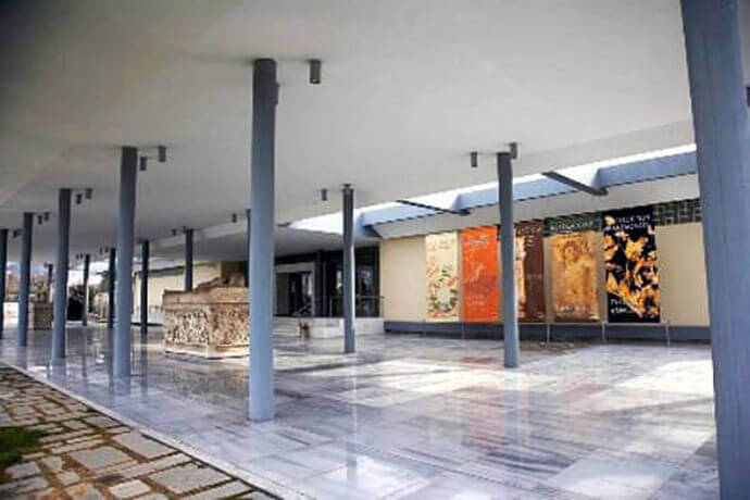 Archaeological Museum in Thessaloniki, 2nd view